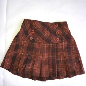 Plaid girl shorts